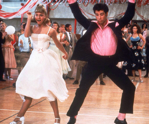 grease, dance, and John Travolta image
