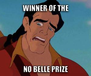 disney, funny, and belle image