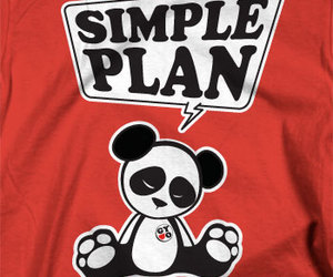 simple plan shirt image
