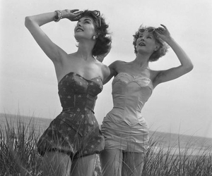 vintage and black and white image