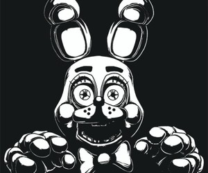 five nights at freddy's, fnaf, and toy bonnie image