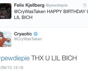 birthday, youtube, and youtuber image