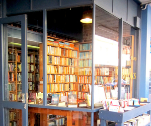 afternoon, books, and bookstore image