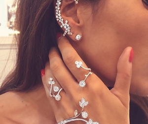 accessories, rings, and earring image