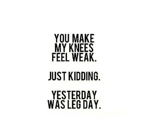 Leg day uploaded by Alessandra on We Heart It