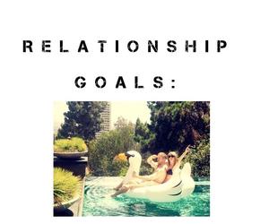 beach, calvin harris, and couples image