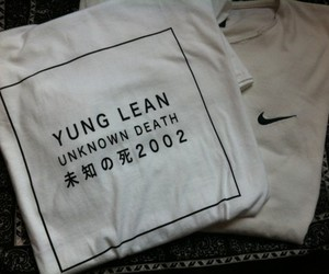 nike, yung lean, and white image