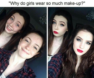 girls and makeup image