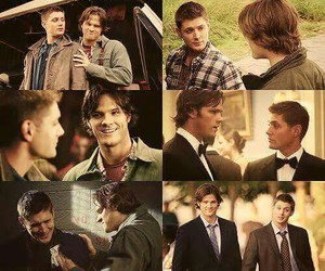 brothers, sam winchester, and winchester image