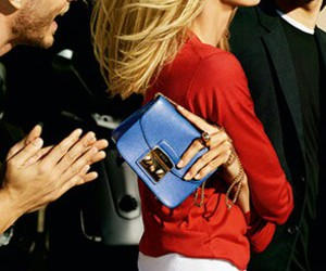 bags, luxe, and furla image