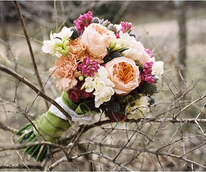 beautiful, romantic, and bouquet image
