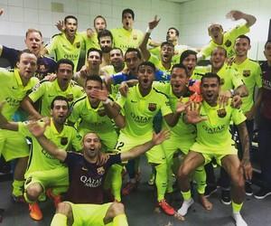 neymar jr, Barca, and Barcelona image
