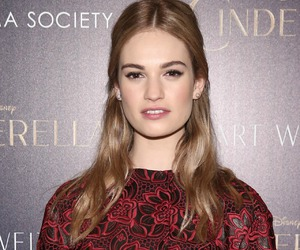 hair and lily james image