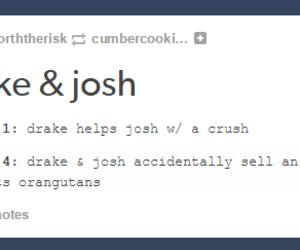 funny, nickelodeon, and drake and josh image