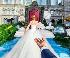 bridal, Couture, and bridal dress image