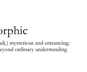 mysterious, quote, and orphic image