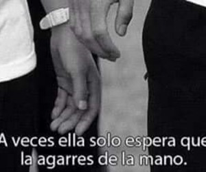 love, frases, and hands image