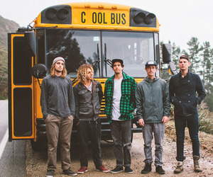 school and cool bus image