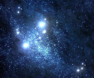 blue and stars image