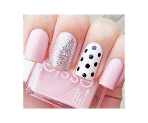 kawaii, nail art, and sparkles image