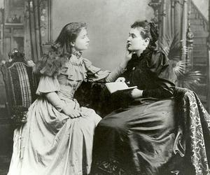 moment, hellen keller, and anne sullivan image