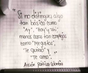colombia, te amo, and frases image
