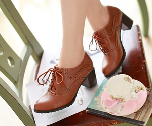 shoes and leather image