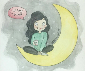 art, cartoon, and Ramadan image