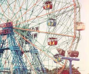 adventure, carnival, and ferris wheel image