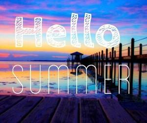 beach, hello, and summer image