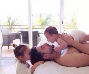 babies, daddy, and life image