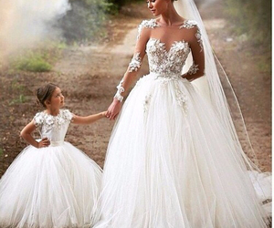 wedding dress and cute image
