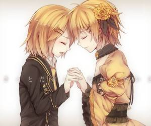 vocaloid, anime, and kagamine rin image