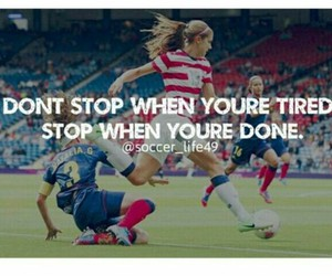motivation, quote, and soccer image