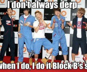 block b, zico, and derp image