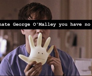 grey's anatomy and george o'malley image