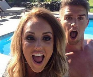 couple, geordie shore, and charlotte crosby image