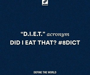 diet, eat, and 8dict image
