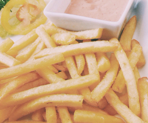 food, fries, and myphoto image