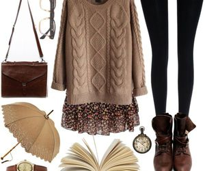 vintage, fashion, and outfit image