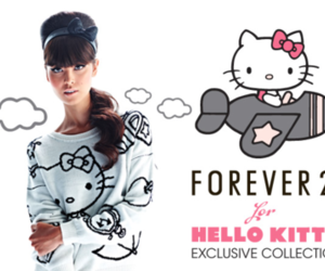 forever 21 and hello kitty image