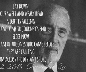 bnw, christopher lee, and jrr tolkien image