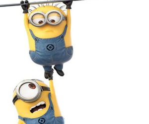 minions, background, and yellow image