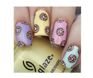 donuts, kawaii, and pastel image