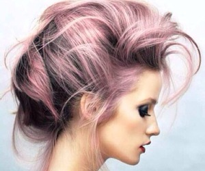 hair, model, and beauty image