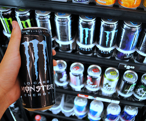 monster, photography, and drink image