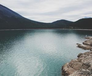 nature, sea, and mountains image