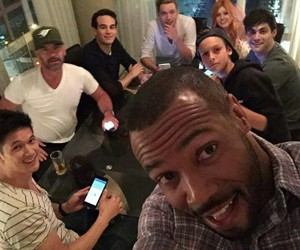shadowhunters, isaiah mustafa, and dominic sherwood image