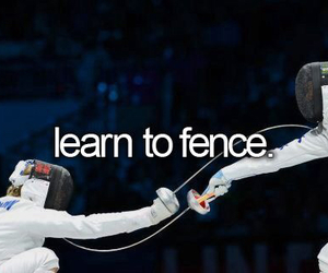 fence, bucket list, and learn image