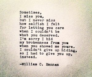 quote, love, and william c hannan image